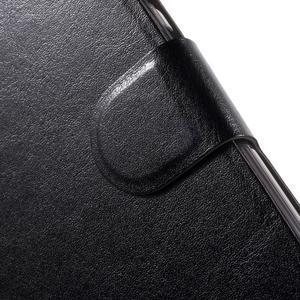 Horse peňaženkové puzdro pre Lenovo Vibe P1 - čierné - 6