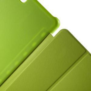 Trifold polohovatelné puzdro na Samsung Galaxy Tab A 9.7 - zelené - 6
