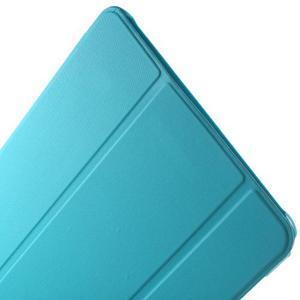 Trifold polohovatelné puzdro pre Samsung Galaxy Tab A 9.7 - svetlo modré - 6