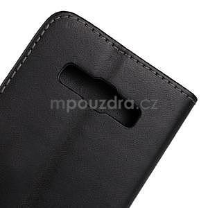 Kožené puzdro na Samsung Galaxy A3 - biele - 6
