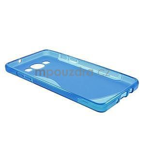 Gélové s-line puzdro pre Samsung Galaxy A3    - modrá - 6