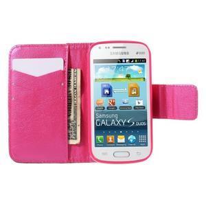 Peňaženkové puzdro pre Samsung Galaxy S Duos / Trend Plus -  srdce - 6