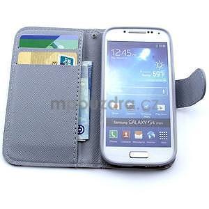 Eiffel peňaženkové puzdro na mobil Samsung Galaxy S4 mini - 6