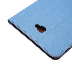 Jeans puzdro na tablet Samsung Galaxy Tab A 10.1 (2016) - světlemodré - 6