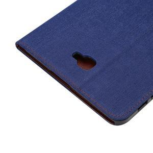 Jeans puzdro pre tablet Samsung Galaxy Tab A 10.1 (2016) - tmavomodré - 6