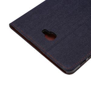 Jeans puzdro na tablet Samsung Galaxy Tab A 10.1 (2016) - černomodré - 6