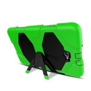 Armory 3v1 odolný obal na tablet Samsung Galaxy Tab A 10.1 (2016) - zelený - 6