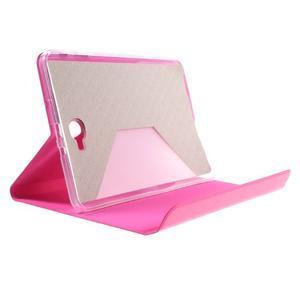 Flippy štýlové puzdro pre Samsung Galaxy Tab A 10.1 (2016) - rose - 6