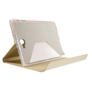 Flippy štýlové puzdro na Samsung Galaxy Tab A 10.1 (2016) - zlaté - 6