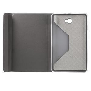 Flippy štýlové puzdro pre Samsung Galaxy Tab A 10.1 (2016) - šedé - 6