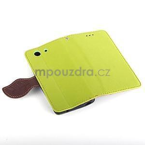 Leaf Peňaženkové puzdro pre Sony Xperia Z3 Compact - zelené - 6