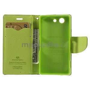 Diary peněženkové pouzdro na mobil Sony Xperia Z3 Compact - tmavěmodré - 6