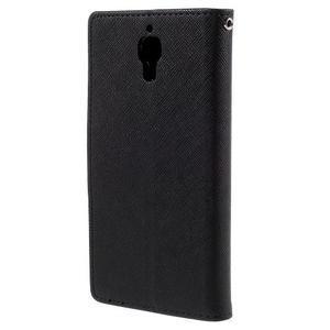 Kožené puzdro na Xiaomi Mi4 - čierné - 6