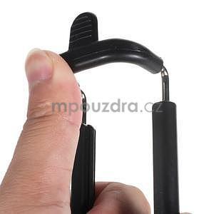 GX automatická selfie tyč so spínačom - čierná - 6