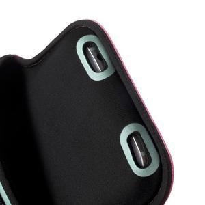 Fittsport pouzdro na ruku pro mobil do rozměrů 143.4 x 70,5 x 6,8 mm - rose - 6