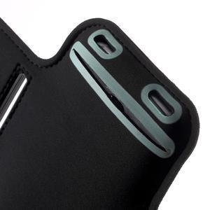 Fittsport puzdro na ruku pre mobil do rozmerov 143.4 x 70,5 x 6,8 mm - black - 6
