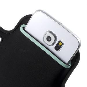 Fittsport puzdro na ruku pre mobil do rozmerov 143.4 x 70,5 x 6,8 mm - biele - 6