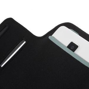 Gym bežecké puzdro na mobil do rozmerov 153.5 x 78.6 x 8.5 mm - biele - 6