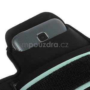 Run bežecké puzdro na mobil do veľkosti 131 x 65 mm -  zelené - 6