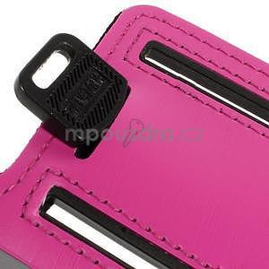 Soft puzdro na mobil vhodné pre telefóny do 160 x 85 mm -  rose - 6