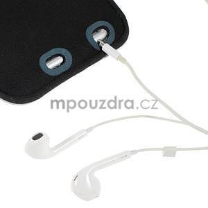 Soft puzdro na mobil vhodné pre telefony do 160 x 85 mm -  fialové - 6