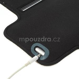 Gymfit športové puzdro pre telefón do 125 x 60 mm - biele - 6