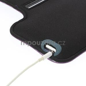 Gymfit športové puzdro pre telefón do 125 x 60 mm - fialové - 6
