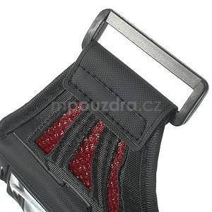 Absorb športové puzdro na telefón do veľkosti 125 x 60 mm -  červené - 6