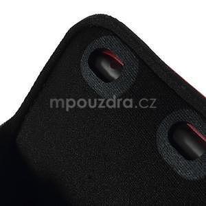 Soft puzdro na mobil vhodné pre telefóny do 160 x 85 mm - červené - 6