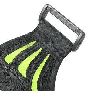 Absorb športové puzdro na telefón do veľkosti 125 x 60 mm -  zelené - 6