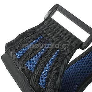 Absorb športové puzdro na telefón do veľkosti 125 x 60 mm -  modré - 6