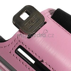Soft puzdro na mobil vhodné pre telefóny do 160 x 85 mm - ružové - 6