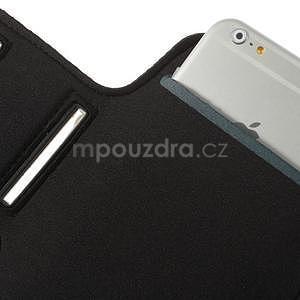 Bežecké puzdro na ruku pre mobil do veľkosti 152 x 80 mm - svetlomodré - 6