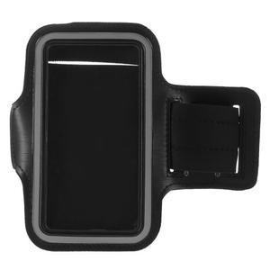 Všestranné puzdro na ruku do rozmeru telefónu 146 x 73 mm - čierne - 6