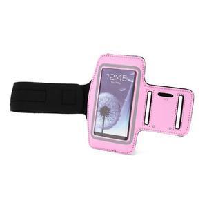 Športové puzdro na ruku až do veľkosti mobilu 140 x 70 mm - ružové - 6