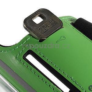 Soft puzdro na mobil vhodné pre telefóny do 160 x 85 mm - zelené - 6