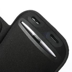 Fit Gym puzdro na ruku pre telefón až do veľkosti 145 x 73 mm - čierne - 6