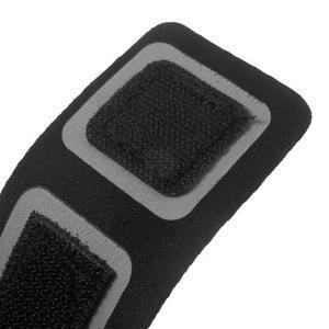 Fitsport puzdro na ruku pre mobil do veľkosti až 145 x 73 mm - čierne - 6