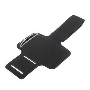 Fitsport puzdro na ruku pre mobil do veľkosti až 145 x 73 mm - tmavomodré - 6