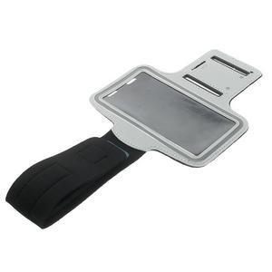 Fitsport puzdro na ruku pre mobil do veľkosti až 145 x 73 mm - šedé - 6