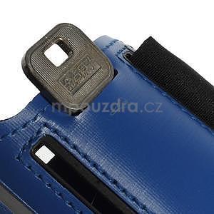 Soft puzdro na mobil vhodné pre telefóny do 160 x 85 mm - tmavomodré - 6