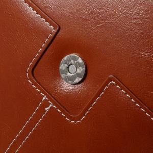 Business univerzální pouzdro na tablet do rozměru 226 x 149 mm - hnědé - 6