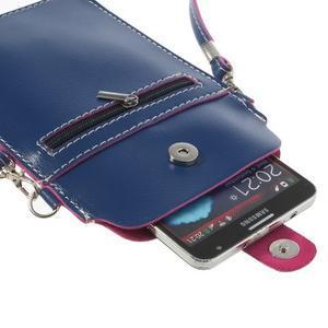 Univerzálne puzdro/kapsička pre mobil do rozmerov 180 x 110 mm - modré - 6