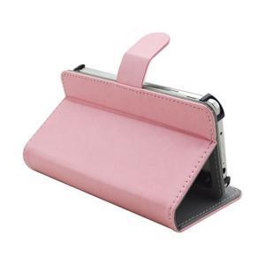 Univerzálne peňaženkové puzdro do 159 x 79 mm - ružové - 6