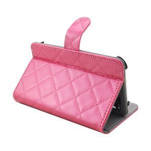 Luxury univerzálne puzdro pre mobil do 148 x 76 x 21 mm - rose - 6