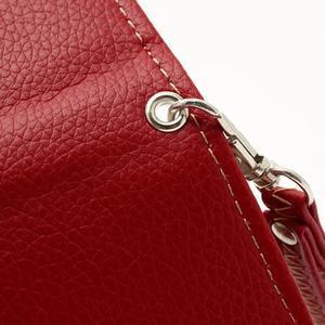 Softy univerzálne puzdro pre mobil do 137 × 71 × 8,6 mm - červené - 6