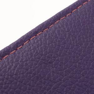 Softy univerzálne puzdro pre mobil do 137 × 71 × 8,6 mm - fialové - 6