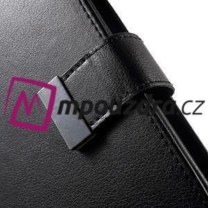 Luxusné univerzálne puzdro pre telefony do 140 x 70 x 12 mm - čierne - 6