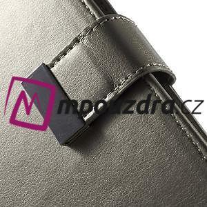 Luxusní univerzální pouzdro pro telefony do 140 x 70 x 12 mm - šedozlaté - 6