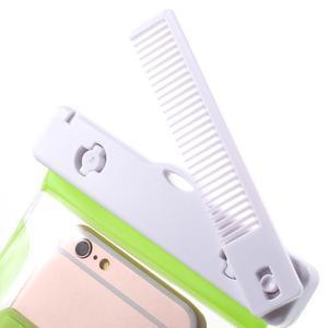 Nox7 vodotesný obal pre mobil do rozmerov 16.5 x 9.5 cm - zelený - 6